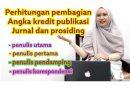 PERHITUNGAN KUM ARTIKEL JURNAL & PROSIDING UNTUK PENULIS PERTAMA, KEDUA & PENULIS CORRESSPONDING
